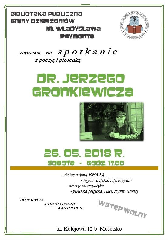 Gronkiewicz plakat
