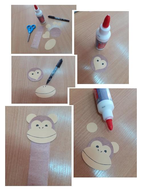 Zakładka małpka